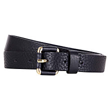 Buy Hobbs Jenny Belt, Navy Online at johnlewis.com