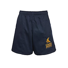 Buy Colfe's School Preparatory Boys' Rugby Shorts, Navy Online at johnlewis.com