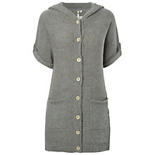 Buy White Stuff Sergeant Parka Cardi, Grey Online at johnlewis.com