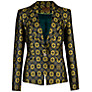 Buy Ted Baker Geo Print Suit Jacket, Black Online at johnlewis.com