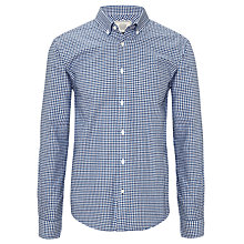 Buy John Lewis Mini Tattersall Oxford Long Sleeve Shirt Online at johnlewis.com