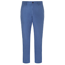 Buy Kin by John Lewis Laundered Chinos, Blue Online at johnlewis.com