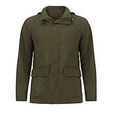 Buy Kin by John Lewis Wax Parka, Olive Online at johnlewis.com