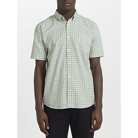 Buy John Lewis Oxford Check Short Sleeve Shirt Online at johnlewis.com