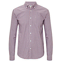 Buy John Lewis Tattersall Long Sleeve Oxford Shirt Online at johnlewis.com
