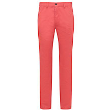 Buy Kin by John Lewis Laundered Chinos, Red Online at johnlewis.com