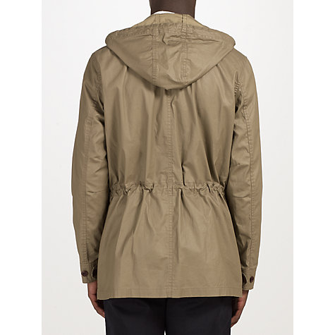 Buy John Lewis Hooded 4 Pocket Coat, Khaki Online at johnlewis.com