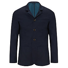 Buy Kin by John Lewis Cotton Blazer, Navy Online at johnlewis.com