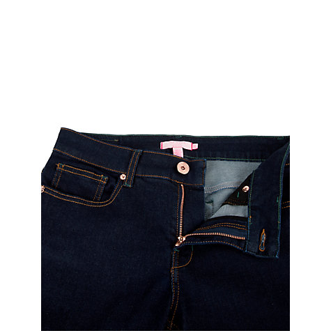 Buy Ted Baker Rahana Rinse Wash Skinny Jeans, Dark Wash Online at johnlewis.com