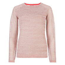 Buy Ted Baker Metallic Mesh Mohair Jumper Online at johnlewis.com