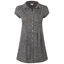 Buy White Stuff Canbray Tunic Top, Smokey Grey Online at johnlewis.com