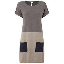Buy White Stuff Mineral Knit Tunic Dress, Grey Online at johnlewis.com
