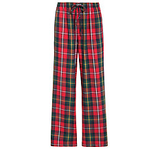 Buy Polo Ralph Lauren McNeil Flannel Sleep Pants, Red Online at johnlewis.com