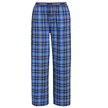 Buy Calvin Klein Woven Traditional Stripe Pyjama Pants, Blue/Grey Online at johnlewis.com