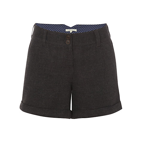 Buy White Stuff Owen Winter Shorts, Grey Online at johnlewis.com