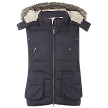 Buy White Stuff Dinky Donkey Gilet, Steel Online at johnlewis.com
