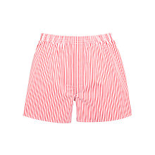 Buy Thomas Pink Alford Stripe Boxer Shorts, Red/White Online at johnlewis.com
