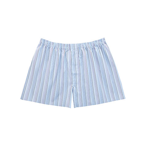 Buy Thomas Pink Sidmouth Stripe Boxer Shorts Online at johnlewis.com