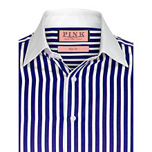 Buy Thomas Pink Gladwin Stripe Long Sleeve Shirt Online at johnlewis.com