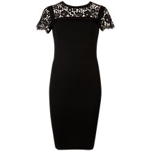 Buy Ted Baker Indrah Lace Dress, Black Online at johnlewis.com