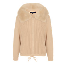 Buy French Connection Otter Knitted Jacket, Camel Online at johnlewis.com
