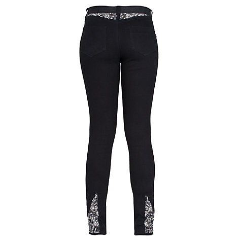 Buy French Connection Dazzle Denim Jeans, Black Online at johnlewis.com