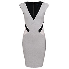 Buy French Connection Sarah Stretch Panel Dress, Multi Online at johnlewis.com