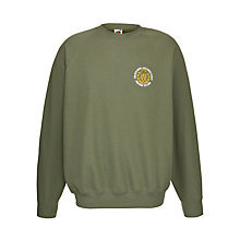 Buy Colfe's School Unisex RAF Sweatshirt, Olive Green Online at johnlewis.com