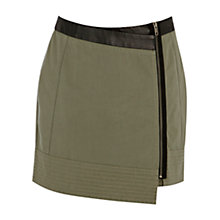 Buy Warehouse Wrap Pelmet Skirt, Khaki Online at johnlewis.com