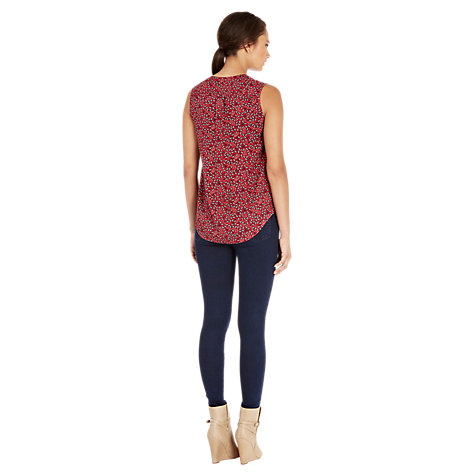 Buy Warehouse Mini Paisley Blouse, Multi Online at johnlewis.com