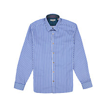 Buy Ted Baker Slipout Bengal Stripe Long Sleeve Shirt Online at johnlewis.com