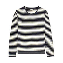 Buy Reiss Provence Stripe Long Sleeve Top Online at johnlewis.com