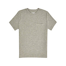 Buy Reiss Hoboken Stripe Short Sleeve T-Shirt Online at johnlewis.com
