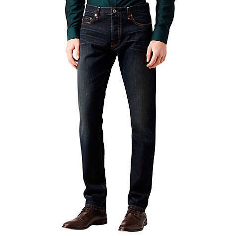 Buy Reiss Dover Selvedge Denim Jeans Online at johnlewis.com