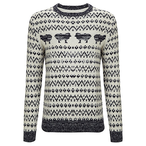 Buy Selected Homme Allan Crew Neck Jumper Online at johnlewis.com