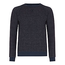 Buy Selected Homme Crew Neck Sweatshirt, Reflected Pond Online at johnlewis.com