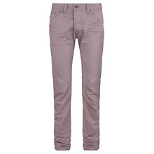 Buy Diesel Darron Regular Tapered Fit Jeans, Mulberry Online at johnlewis.com