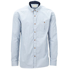 Buy Selected Homme Manhattan Flannel Shirt, Denim Online at johnlewis.com