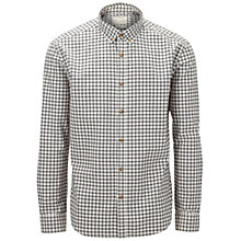 Buy Selected Homme Gingham Shirt, Grey Online at johnlewis.com