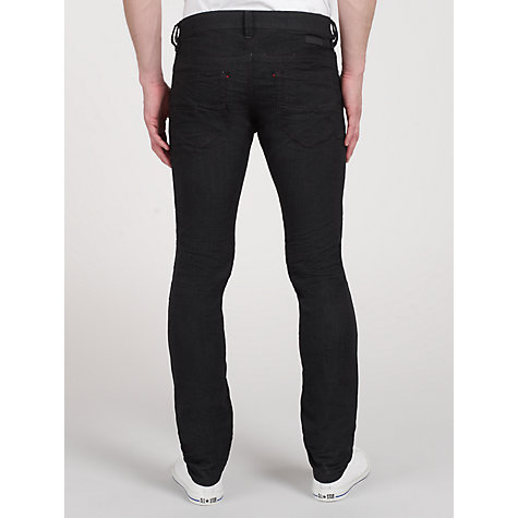 Buy Diesel Thavar Jogg Skinny Fit Jeans, Dark Blue Online at johnlewis.com