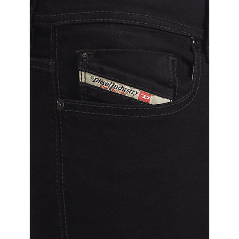 Buy Diesel Sleenker Slim Skinny Leg Jeans, Black Online at johnlewis.com