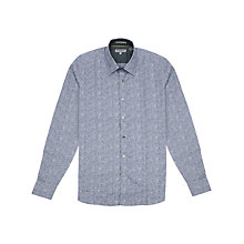 Buy Ted Baker Jacard Shirt Online at johnlewis.com