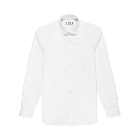 Buy Reiss Anson Waffle Check Textured Long Sleeve Shirt Online at johnlewis.com