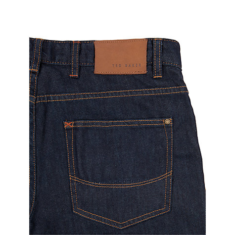Buy Ted Baker Obsign Straight Jeans Online at johnlewis.com