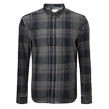 Buy Selected Homme Aldgate Shirt, Grey Online at johnlewis.com
