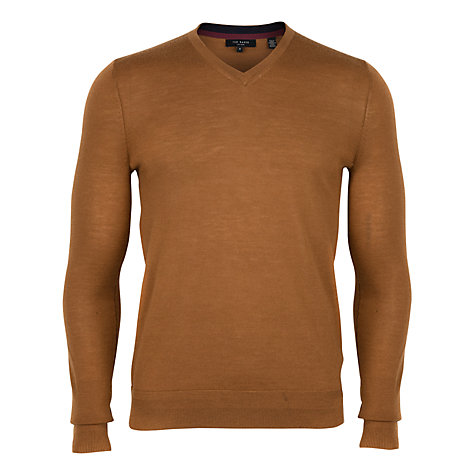 Buy Ted Baker Bagbo Merino V-Neck Jumper Online at johnlewis.com