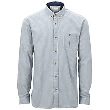 Buy Selected Homme Manhattan Shirt, Blue Online at johnlewis.com