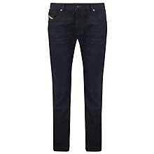 Buy Diesel Waykee Regular Fit Tapered Jeans, Indigo Treated Online at johnlewis.com