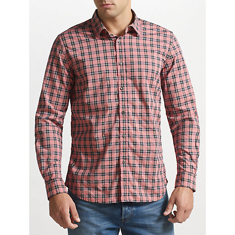 Buy Diesel Sashton Check Long Sleeve Shirt Online at johnlewis.com