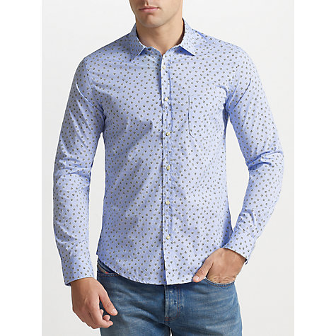 Buy Diesel Micro Floral-Print Shirt Online at johnlewis.com